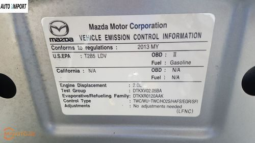 MAZDA Mazda 3 2013